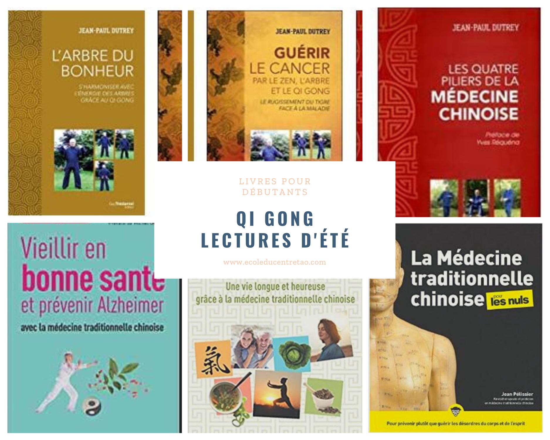 Qi Gong : 5 livres pour les débutants