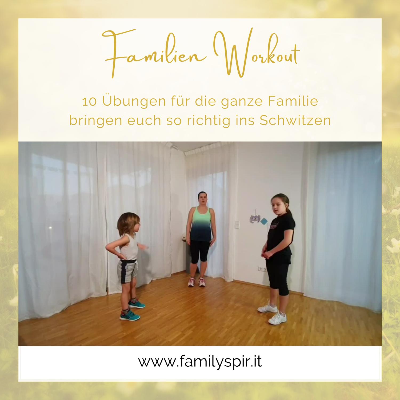Familienworkout