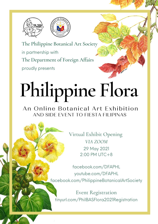 Philippine Flora: An Online Botanical Art Exhibition, 29 May 2021 until 29 June 2021