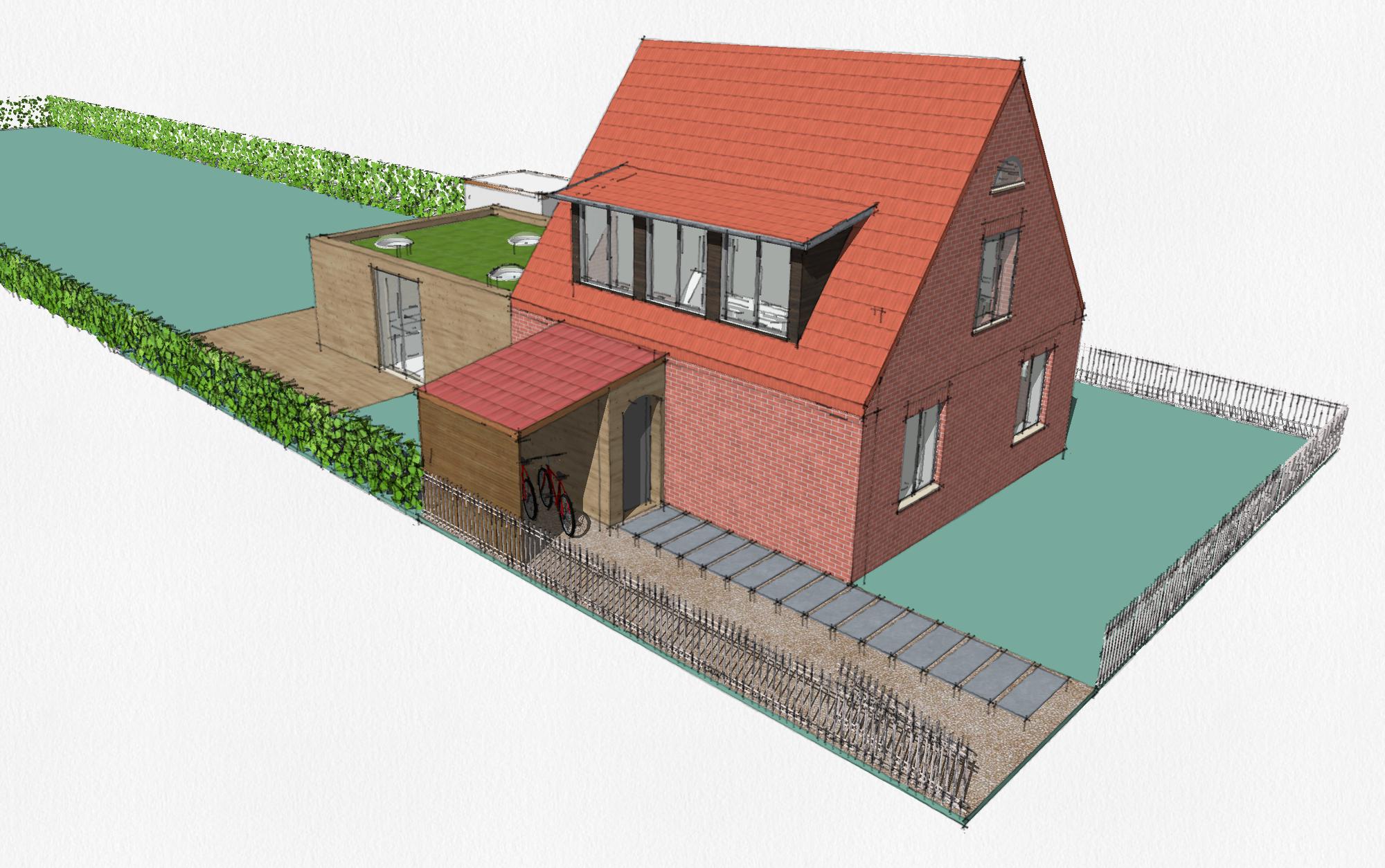 Umbau und Sanierung Siedlungshaus