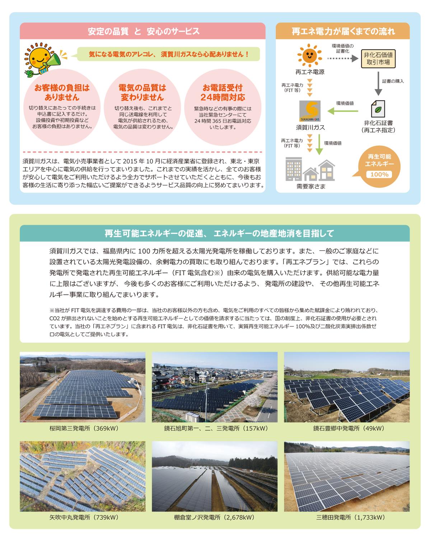 【Switch for Fukushima】福島生まれの再エネ100%電力を応援しよう!