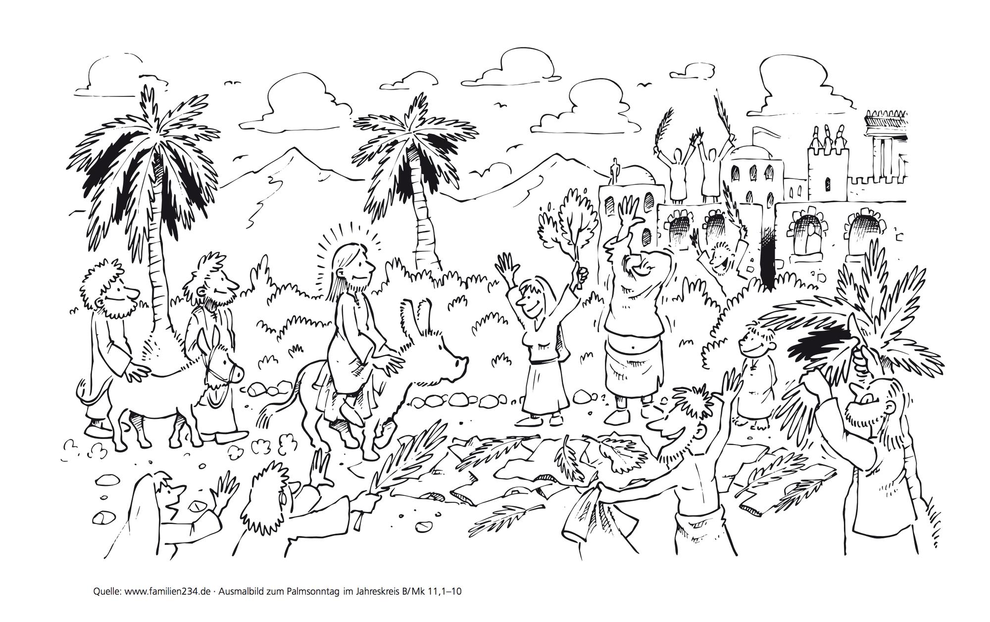 Palmsonntag und die Passion - Dimanche des rameaux et la passion