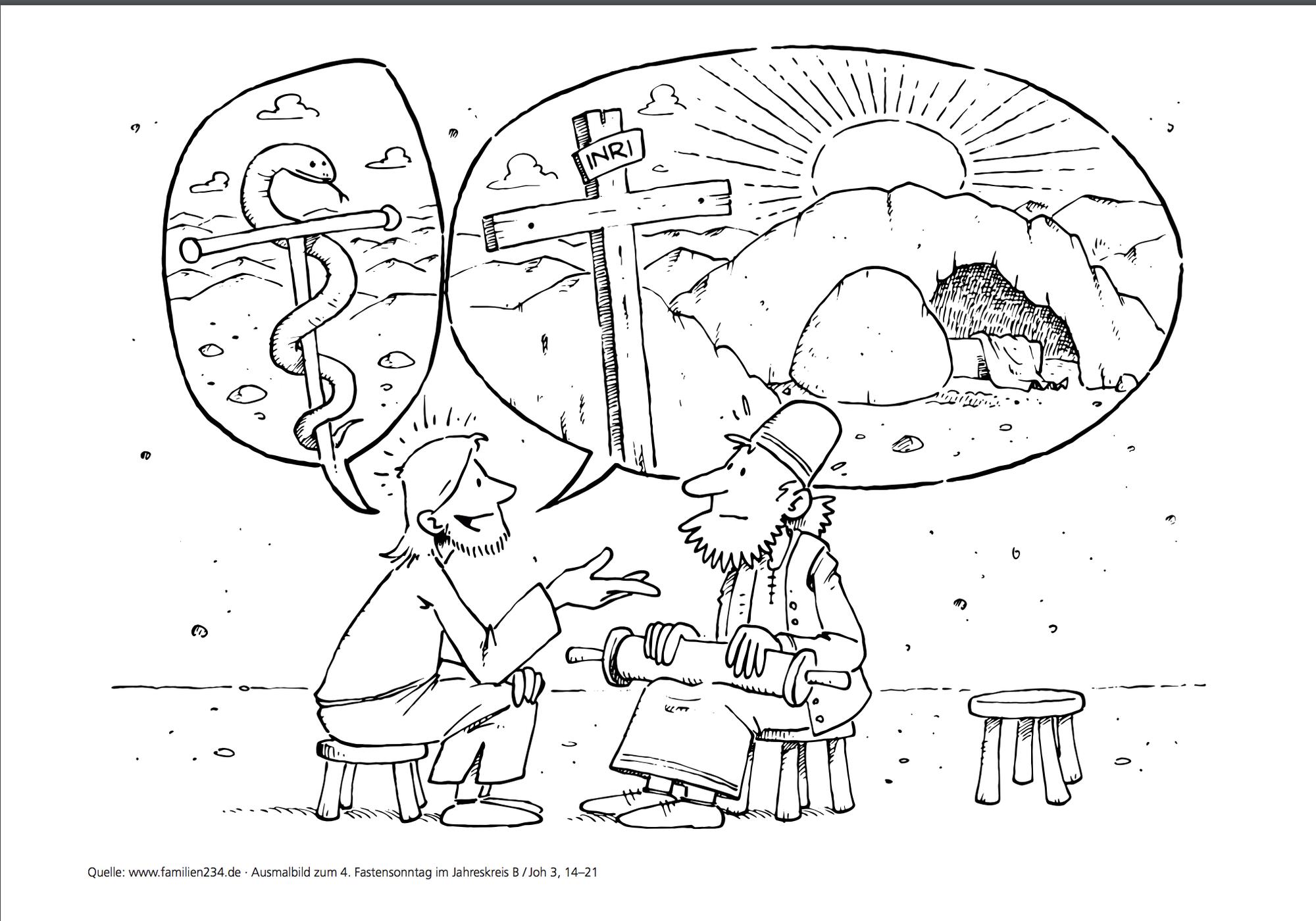 Vierter Fastensonntag - 4ème dimanche de carême