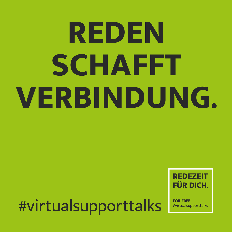 REDEZEIT for free - #virtualsupporttalks