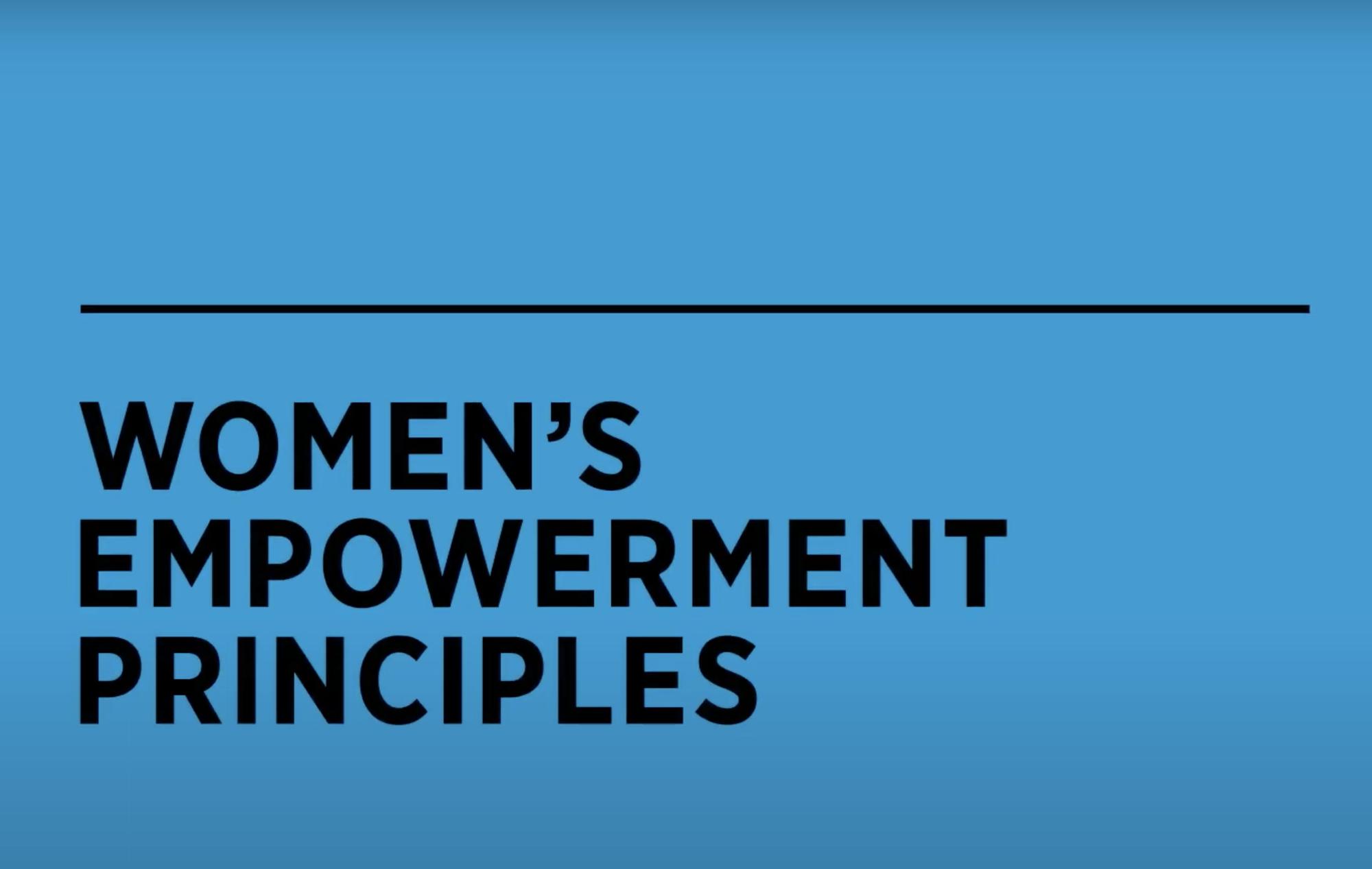 WEPs - Womens Empowerment Principles