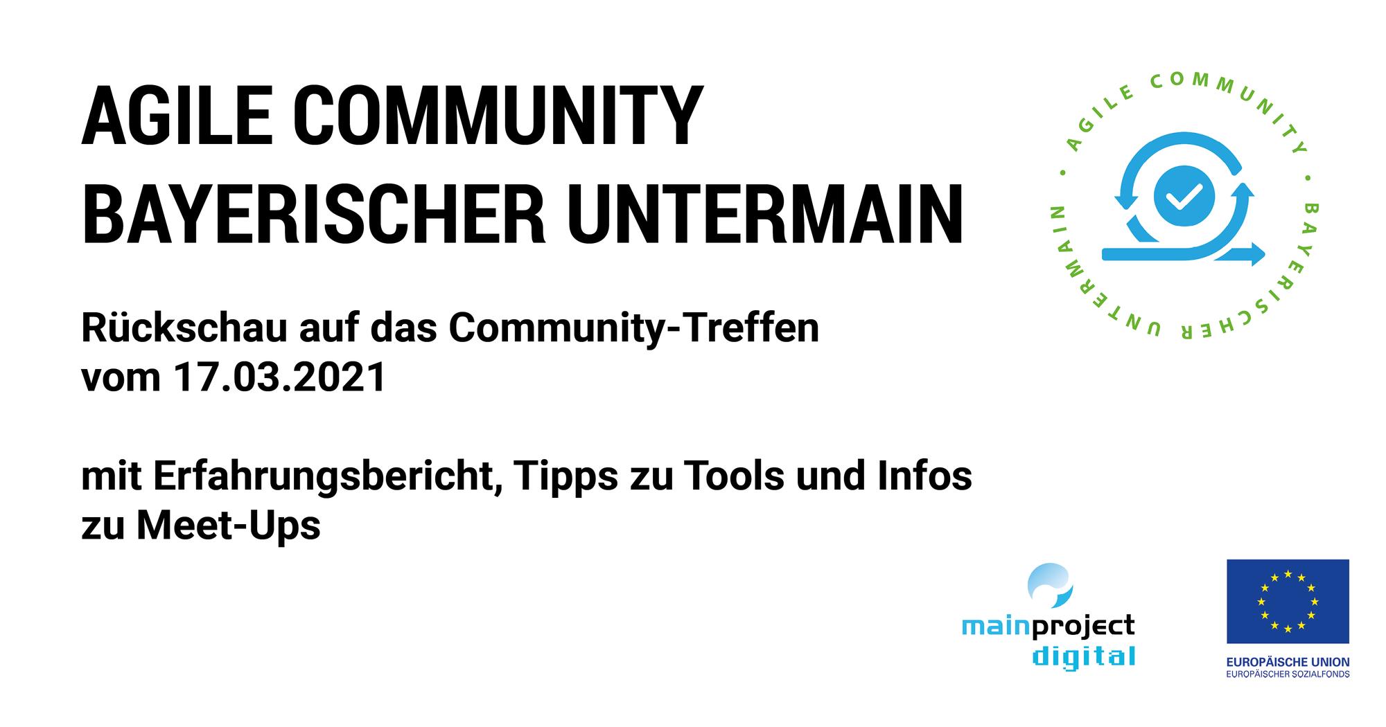 4. Treffen der Agilen Community Bayerischer Untermain