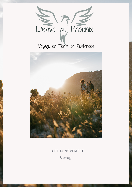 """Nouveau stage ! """"L'envol du Phoenix"""" les 13-14 novembre 2021 à Sarzay"""