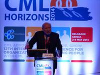 GIUSEPPE SAGLIO italy leucemie lmc france cml horizons 2014 belgrade beograd serbia advocates network chonic myelloid leukemia