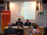 Viele und nachhaltige Fragen begleiteten die Buchvorstellung mit Diskussion in der Europäischen Akademie Otzenhausen.