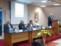 Ein Fachkundiges Forum bei der Buchvorstellung in Banja Luka.