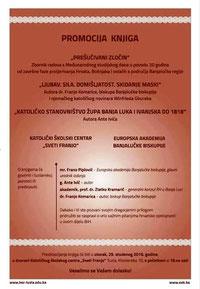 Am 29. November fand eine Buchvorstellung in Tuzla, Bosnien und Herzegowina statt.
