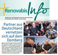 Als Autor und Referent auf dem Partnerschaftstreffen von RENOVABIS in Freising  mit dabei: Buchautor Winfried Gburek (oberes Foto, Mitte).