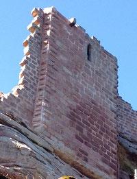 Restauration du château du Schoeneck, classé monument historique