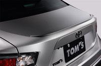 TOM'S 86 トランクリッドスポイラー