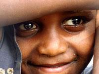 Afrika - Strahlende Kinderaugen