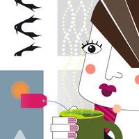 Il·lustració editorial. Sílvia Llenas