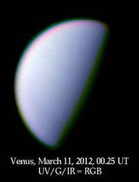 Venus March 11, 2012