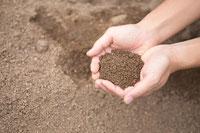 山砂や真砂土の写真