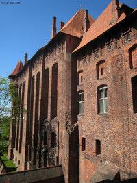 Zerstörung und Verfall: Selten trefft Ihr auf Zeugnisse des Niedergangs, Malbork wurde und wird vorbildlich Restauriert
