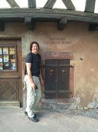 Während einem meiner Straßburg-Aufenthalte. Foto: S.