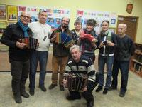 Visite du musée de l'accordéon à SARATOV. Russie