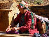 Jeune maman Tamang