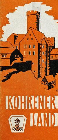 Werbeprospekt Kohrener Land 1980