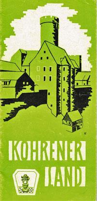 Werbeprospekt Kohrener Land 1978