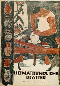 Heimatkundliche Blätter 1957