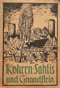 Kohren-Sahli Gnandstein Heft Buch  1959