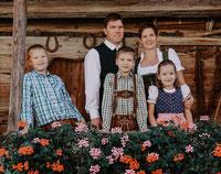 Familie Reitstätter, Hacklhof in Kössen