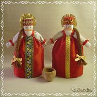 Русские народные куклы. Русские красавицы