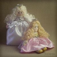 Куклы принцессы. Ручная работа.
