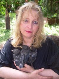 3 Nestflüchter u. Angelika