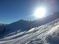 Link zu aktuellen Schneeberichten der Skigebiete im Allgäu