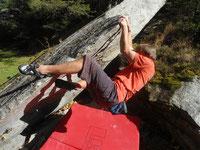 Bouldern im Sundergrund ( Zillertal )
