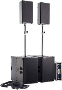 TW Audio PA SYS TWO mieten Frankfurt