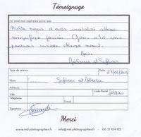 témoignage reportage photo mariage MD Photographies - Magali Deschamps