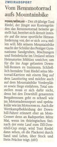 Freie Presse Penig/Lunzenau 12/2013
