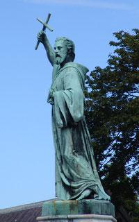 Pierre l'Ermite, place St-Michel-Amiens