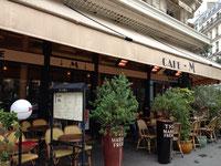 早朝から営業、朝の犬散歩に立ち寄りたいカフェです。