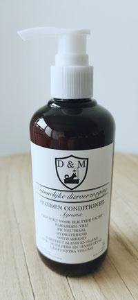 DM4U-D&M-Natuurlijke-dierverzorging-honden-hond-puppy-pup-shampoo-conditioner-parfum-hondenshampoo-parabeen-vrij-PH-neutraal-vacht-huid-agrum-agrume-citrus-vruchten-korte-vacht-halflange-half-lange-ontwarrend-volume-glans