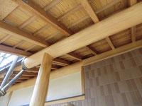 木部のアク洗い:施工完了後