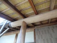 木部のアク洗い:施工前