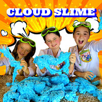 slime, cloud slime, how to make cloud slime