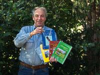 der Autor mit seinen letzten 5 Romanen