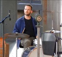 2014: TOTAL TRIO Member Misch Feinen (Schlagzeug, Batterie,drums)