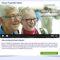 Die preisgekrönte Videomail vom Dortmund Airport