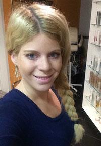 Tina Schwendimann Geschäftsinhaberin Coiffure Haarscharf
