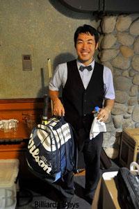 ベストアマに輝いた酒井選手。「早く負けたらテニスに行こうと思って」。発想も笑顔も爽やかすぎる……